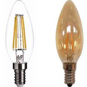 E14 LED Filament Lamp